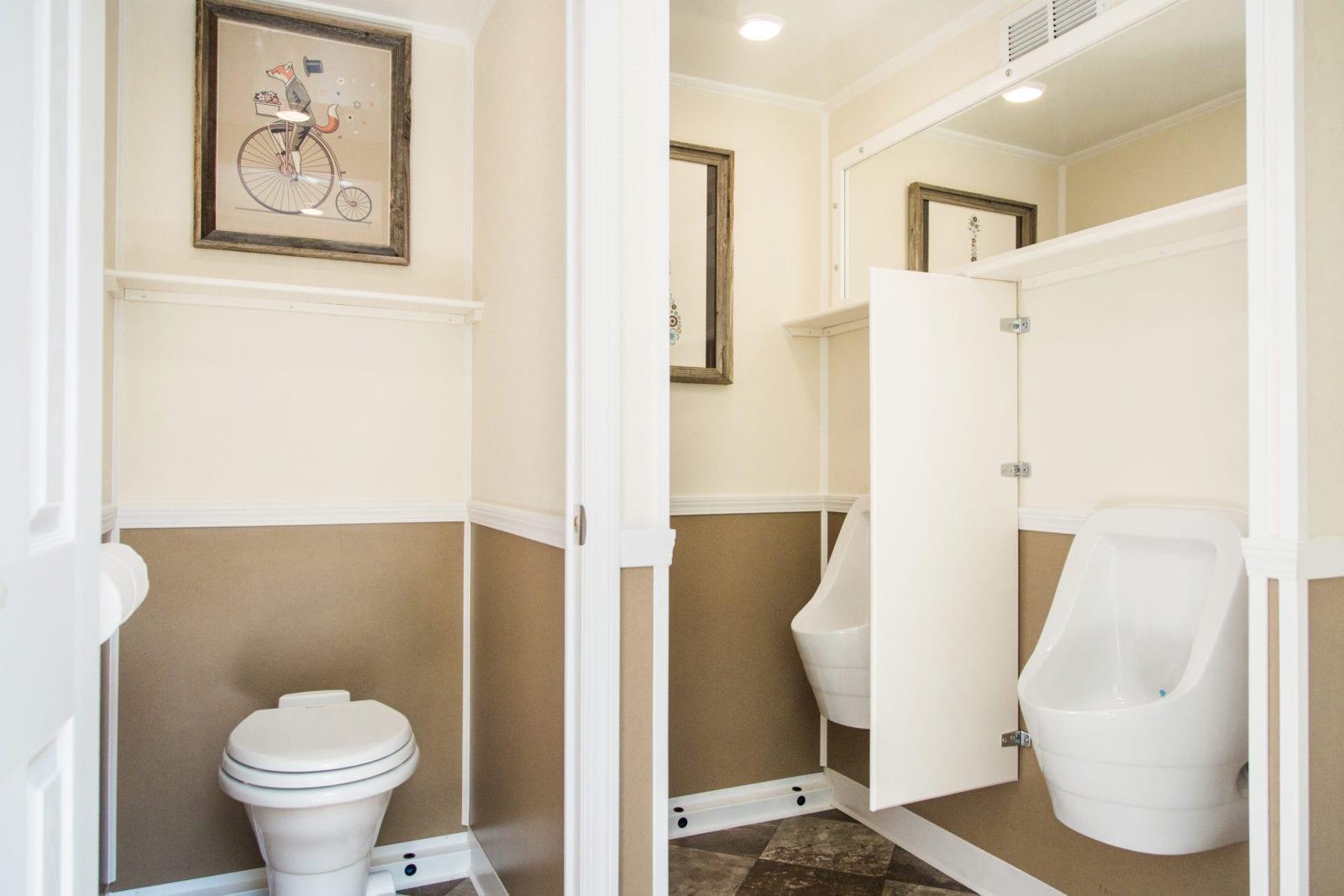 Portable Toilet Exhibition : Texas luxury portable restroom toilet trailers rentals in texas